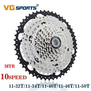 VG sports MTB-piñón libre de 10 velocidades, 11-50T, 46T, 40T, Piñón cdg, 34T, 32T, cog velocidade, volante de bicicleta de montaña