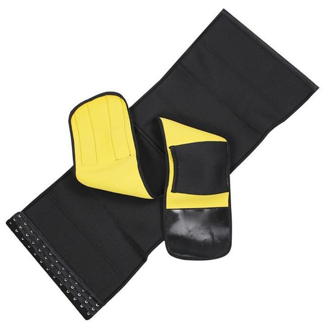 New Diving Material Yoga Sports Sweat-abdominal Belt Ladies Large Size Neoprene Corset Corset Women Waist Trainer Body Shapers 3