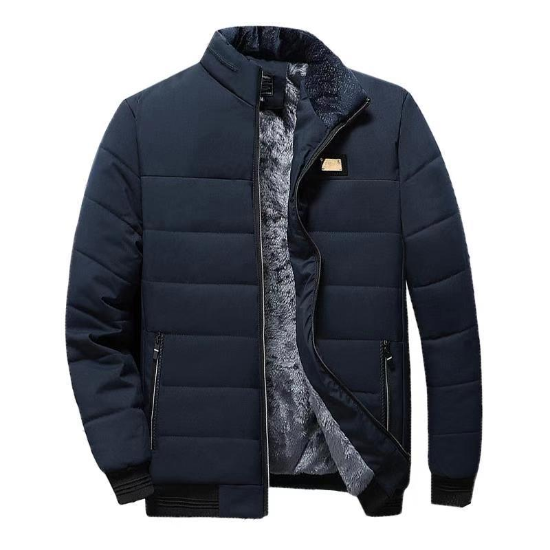 Spring Fleece Jackets Parka Mens Warm Bomber Jacket Coats Male Casual Baseball Hip Hop Coats Slim Fit Autumn Brand Jackets Men