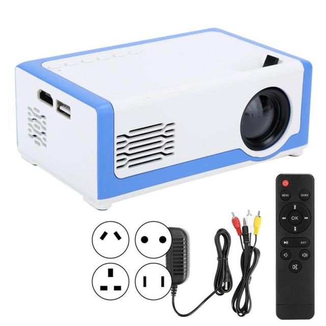 Portable HD Mini Projector TD90 Native 1920x 1080P LED Android WiFi Projector Video Home Cinema 3D USB Movie Game Proyector 4