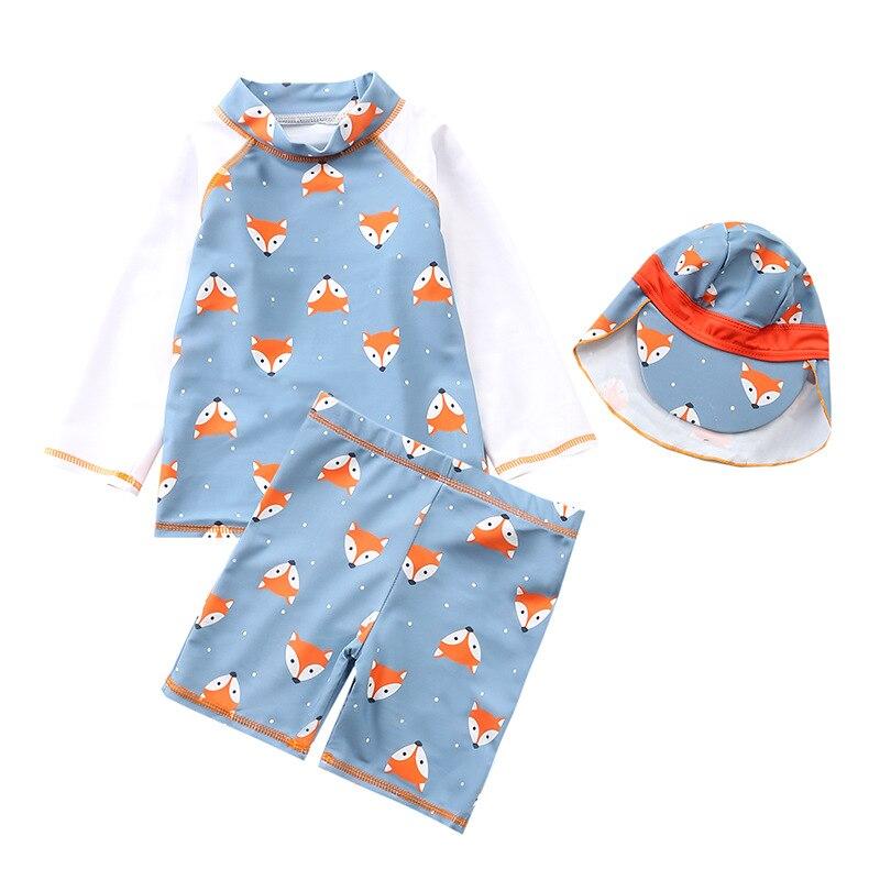 INS KID'S Swimwear Men's Split Type Swimwear Infants 1-6-Year-Old Children New Style South Korea Boy Baby Swim Bathing Suit