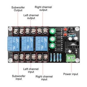 Image 5 - AIYIMA 300W 2,1 Kanal Klasse D Digital Verstärker Lautsprecher Schutz Bord Relais Lautsprecher Schutz Modul Boot Verzögerung DC Schützen