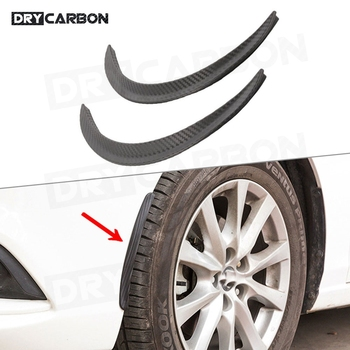 Fender Flares Wheel Eyebrow Auto Mudguard Lip Body Kit Auto car Protector Cover Mud Guard for Universal cars image
