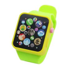 Buy Children Multi-function Toy Watch Touch Screen Smartwatch Wristwatch for Early Education directly from merchant!