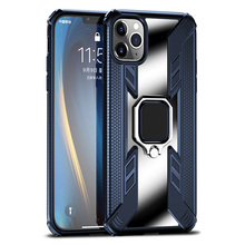 Magnetic Holder Ring Case on For iPhone 11 Pro MAX X XS MAX XR Shockproof Armor Clear Cover for iphone 6 6s 7 8 Plus Case Coque цена и фото