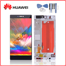 HUAWEI Original P8 LCD Display Touch Screen Digitizer For Huawei P8 Display with Frame Replacement GRA-L09 GRA-UL10 +Free Tools for huawei p8 lcd screen 100% high quality lcd display touch panel fhd 5 2inch for huawei ascend p8 samrt phone free shipping