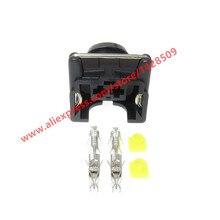 10 комплектов EV1 женский топливный инжектор разъем авто форсунка/масло автомобиля 2 Pin Электрический провод Автомобильные Разъемы для автомобилей