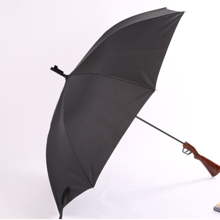 Manufacturers Direct Selling Fashion 8k Bone Sun-resistant Long Handle Straight Umbrella Customizable Advertisement Logo Rain Or