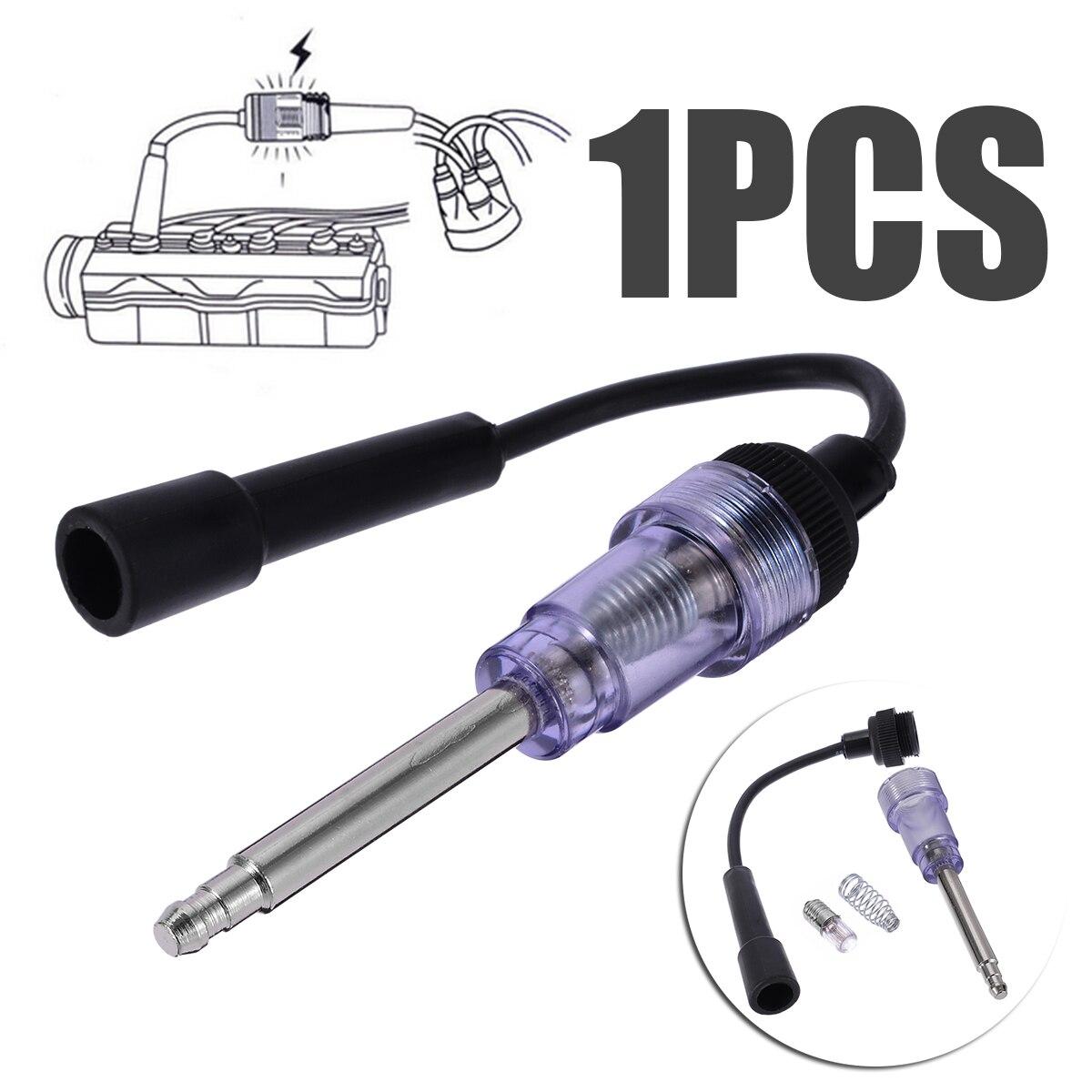 6V-12V Spark Plug Tester In Line Ignition Spark Plug Diagnostic Coil Test Tool  Engine Ignition Spark Plug