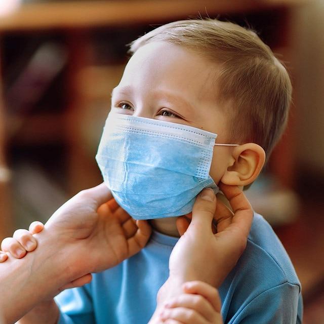 Kinder Mundschutz (Chirurgische Gesichtsmaske) 5
