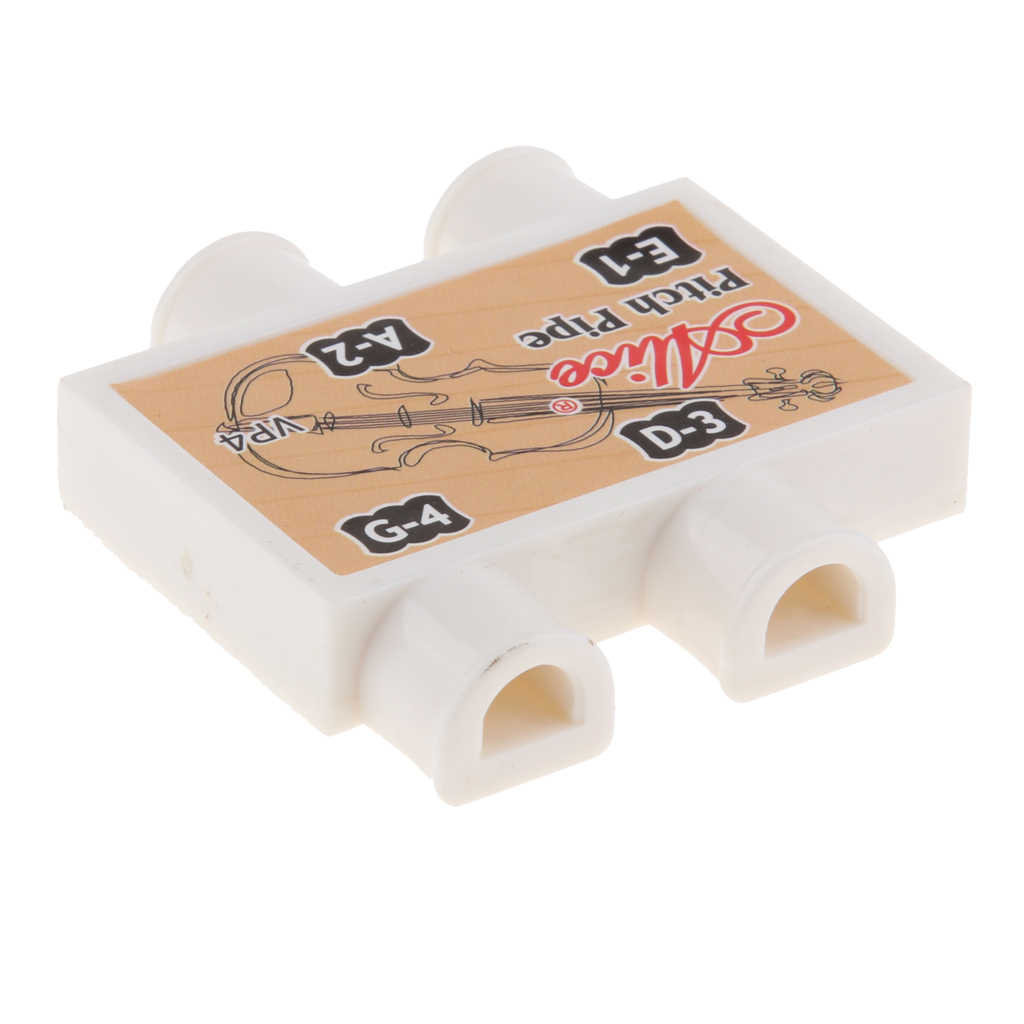 ポータブル耐久性のある 4 チューブピッチパイプ-E/A/D/G チューナーバイオリン練習アクセサリー