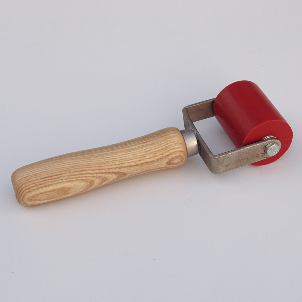 Tools : 50mm silicone gel Pressure Seam Rollers Silica Gel Roller for Plastic Welder Gun
