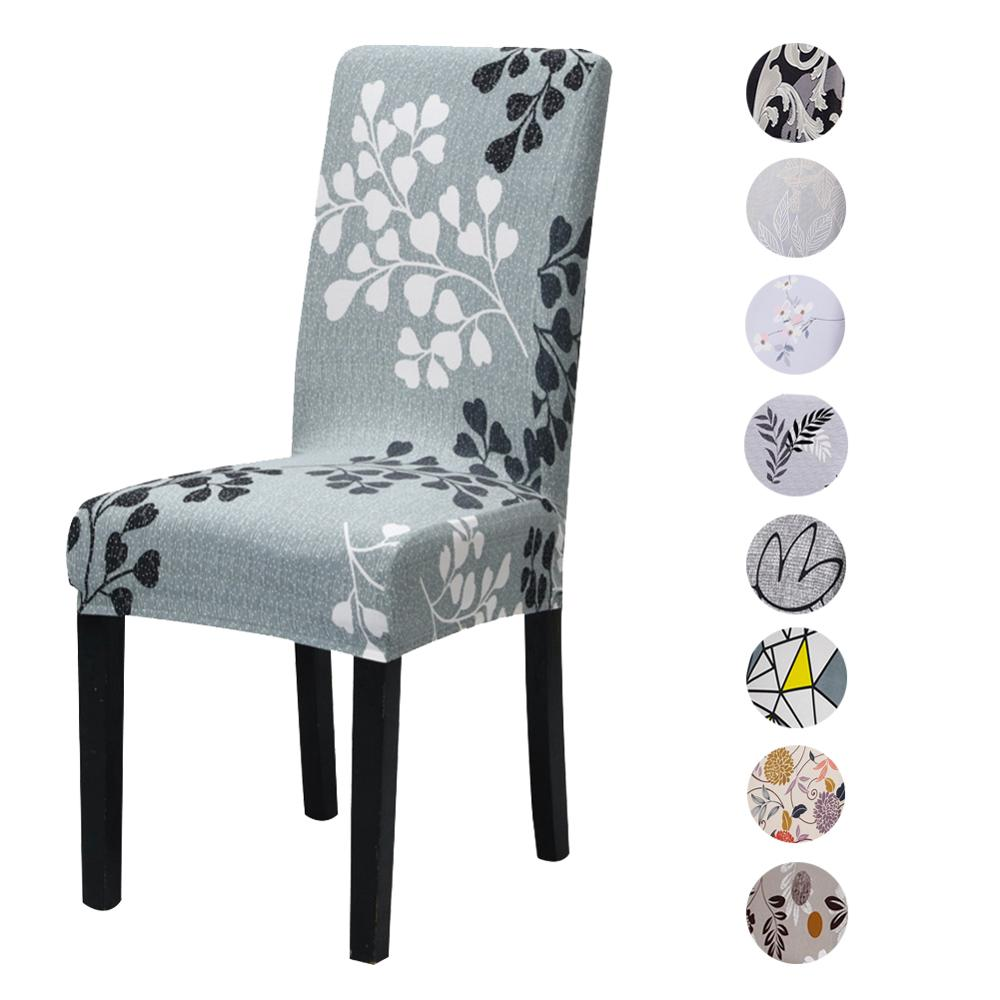 Meijuner Chair Cover Stretch Spandex Chair Covers Elastic Multifunctional Dining Furniture Seat Cover Home Decor For Dining Room