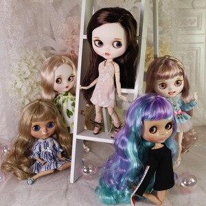 Image 2 - 氷dbs工場ブライス人形共同体に販売1/6 bjdネオアゾンアニメおもちゃカスタム彫刻唇