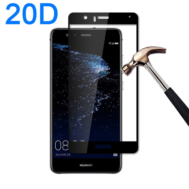 20D Tempered Glass Screen Protector For Huawei P10 Lite P10 Plus P 10 P10lite P10plus Protective Glass On P10 Lite Safety Film