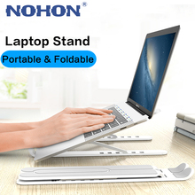 NOHON Foldable Laptop Stand Portable Notebook Stand For MacBook Air Pro iPad Laptop Holder