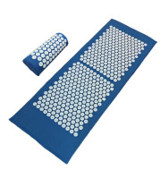 Massager Cushion (Appro.130*48cm) Acupuncture Sets Relieve Stress Back Pain Acupressure Mat with Pillow Massage and Relaxation