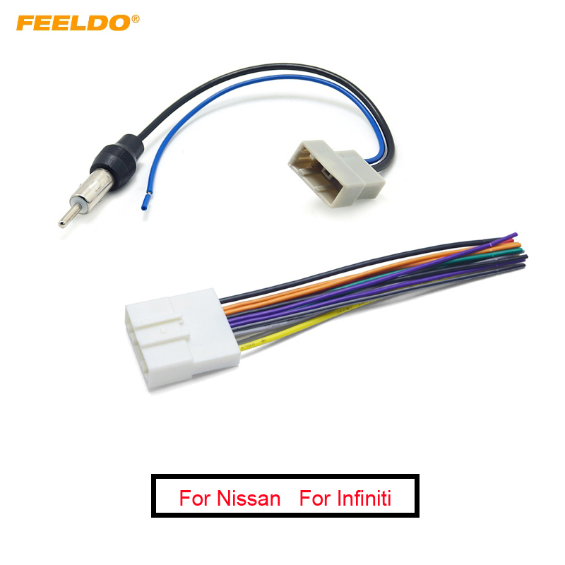 Compatible with Mazda Mazda 3 2010-2013 Factory Stereo to Aftermarket Radio Antenna Adapter