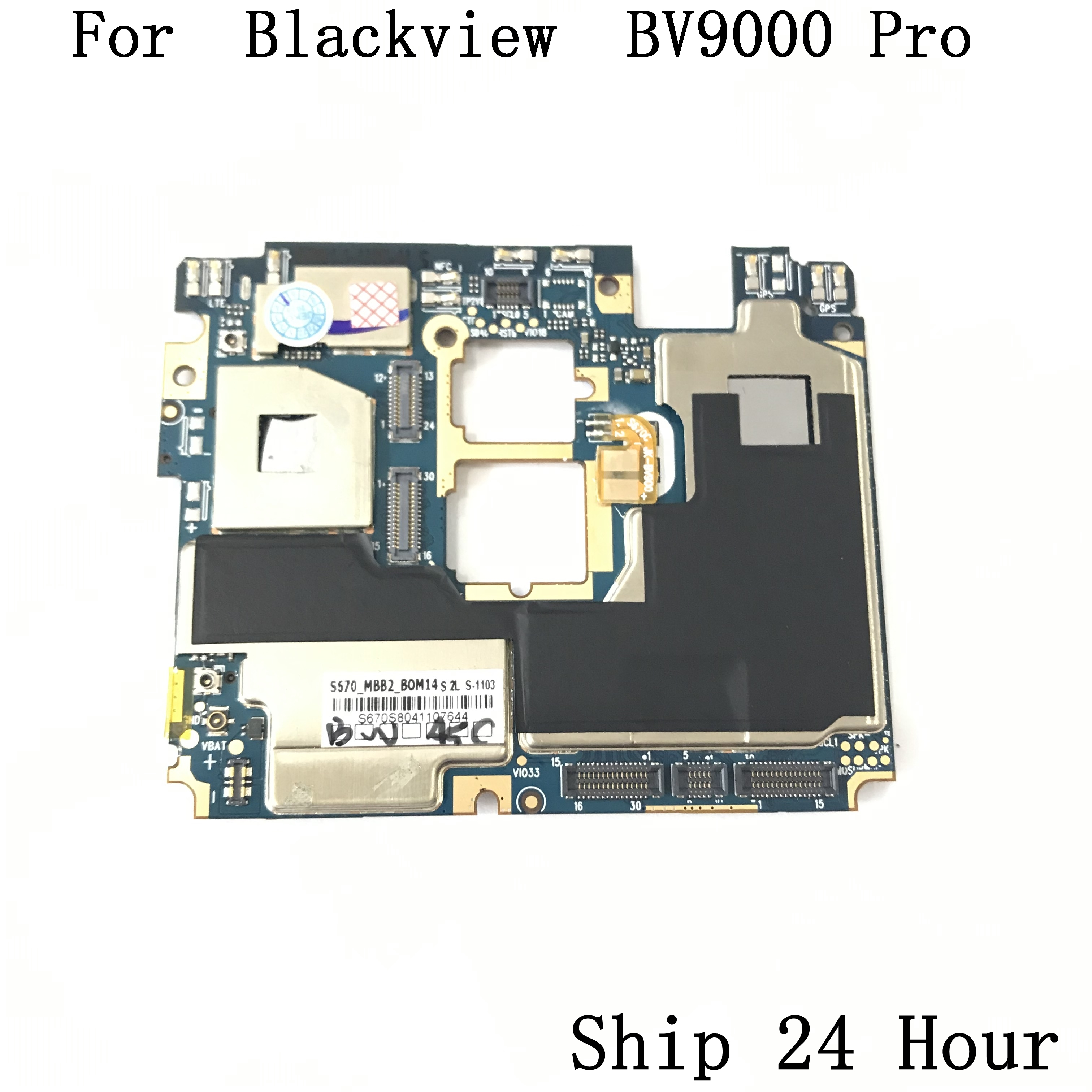 Placa base usada 6G RAM + 128G ROM placa base para Blackview BV9000 Pro MTK6757 Octa Core 5,7