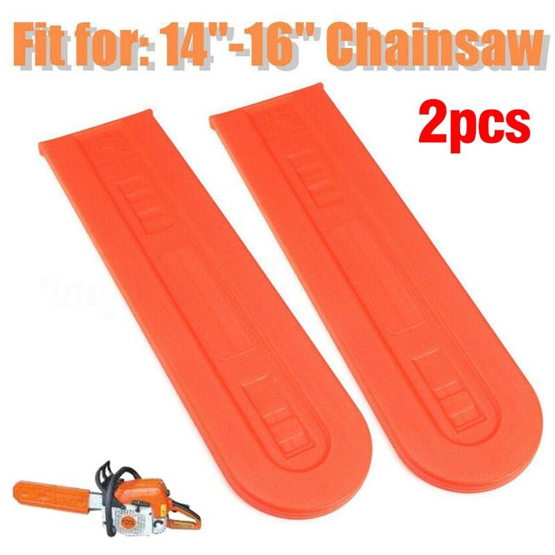 14-16Inch Chainsaw Bar Protective Cover Scabbard For Husqvarna Stihl Universal