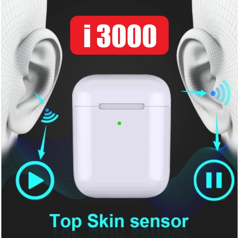 Original i3000 TWS 1: 1 Bluetooth 5.0 Wireless 6D heavy bass earphone PK i10 i20 i30 i60 i80 i300 i2000 i800 i500 i12 i10000tws