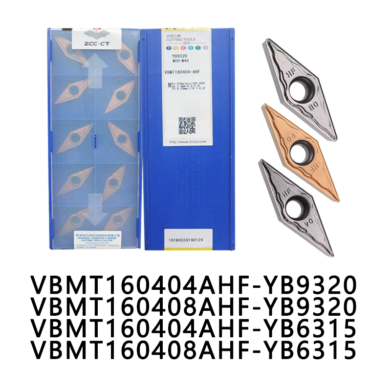10pcs <font><b>VBMT</b></font> <font><b>160404</b></font> VBMT160408 promotional tungsten carbide turning inserts for steel stainless steel CNC lathe tools image