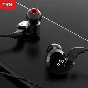 Image 5 - TRN auriculares internos híbridos V80 2DD 2BA, auriculares HIFI Monito para correr, deportivos, con Cable desmontable, ZST V30 ES4 V90 BA5