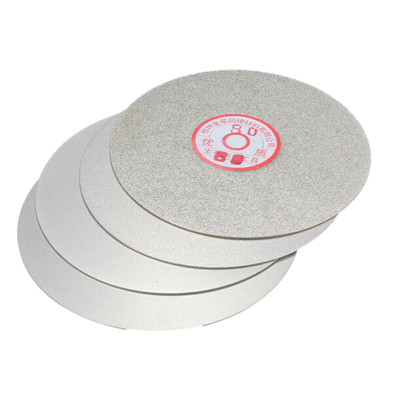 4Pcs 6 Inch 600/800/1200/3000 Grit Flat Lap Wheel Lapping Grinding Disc For Grinding Pad Tool Power Tool Accessories
