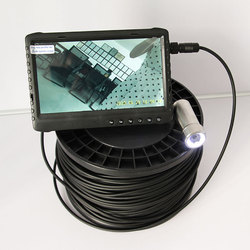 100m Lange Kabel 1080P 0,001 Lux Nachtsicht Unterwasser CCTV Video Kamera System für Tiefe Gut/Rohr/kanalisation