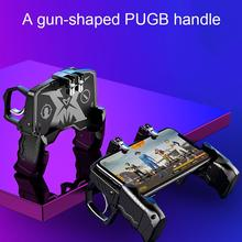 Pubg Game Gamepad AK66 For Mobile Phone Shooter Trigger Fire Button Game Controller Joystick Metal Trigger Game Accessories