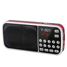 Nuovo Caldo Portatile Radio Ad Alta Potenza MP3 Player Digital Audio Music Player con La Torcia Elettrica Led