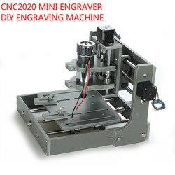 CNC 2020 pulpit grawer Mini 3 osi CNC DIY Router CNC2020 rzeźbione w drewnie grawerowanie maszyny