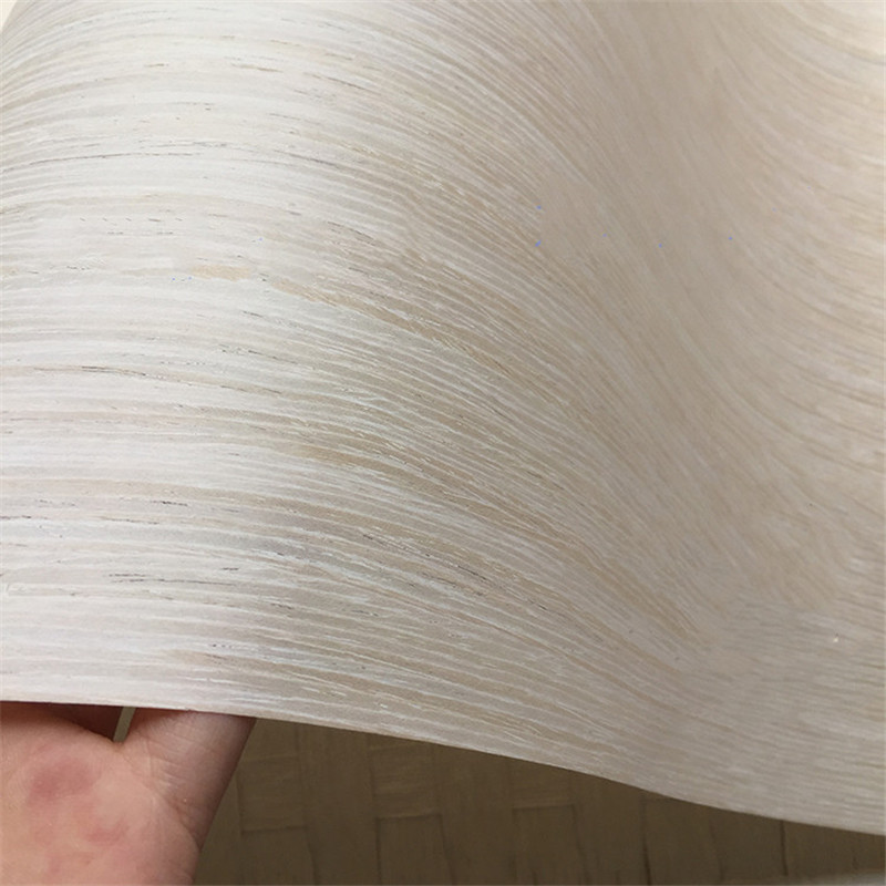 Technical Veneer Sliced Wood Engineering Veneer E.V. Titanium White Oak Eco-friend Q/C