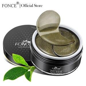 Image 2 - FONCE Parches de Ojo de cristal de colágeno para té negro, 60 Uds., eliminador Natural de ojeras, se desvanece, líneas finas, máscaras de bolsa para dormir
