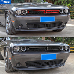 Image 4 - MOPAI Car Grille Air conditioning Vent Decoration Cover Stickers for Dodge Challenger 2015+ Exterior Accessories