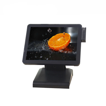 Commercial 15 inch pos All In One POS Machine Touch Screen POS Terminal with Card reader