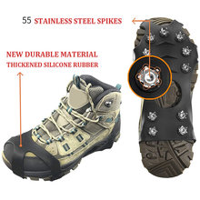 10 зубов по ледяным скалам! Обувь теплая зимняя обувь для альпинизма!