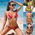 2021 сексуальное бикини, женский купальный костюм, купальник с леопардовым принтом, женский купальный костюм-бандо, купальный костюм с пуш-ап,...