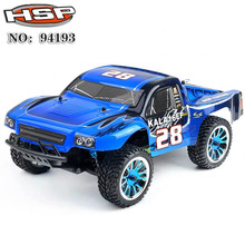 HSP 1/18 Brushless Remote Control Short Card Electric 4WD Edition Vehicle Model 94193PRO 70KM/H