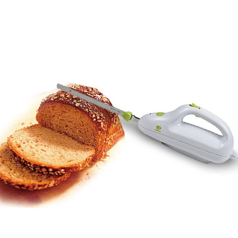 Acier inoxydable couteau dentelé pain électrique viande congelée jambon Cutter ménage cuisine outils boeuf couteau Restaurant coupe N