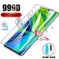 Закаленное стекло 99D с полным покрытием UV для Xiaomi Mi 11 10 Ultra Pro, Защита экрана для Xiaomi Mi Note 10 Pro 11, аксессуары для телефонов
