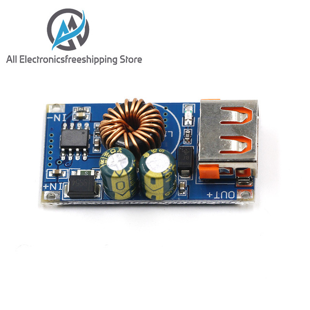 USB DC Step-Down Module 12V 24V To QC2.0 QC3.0 Fast Charge Mobile Phone Charging Board For Apple Huawei FCP Quick Charger