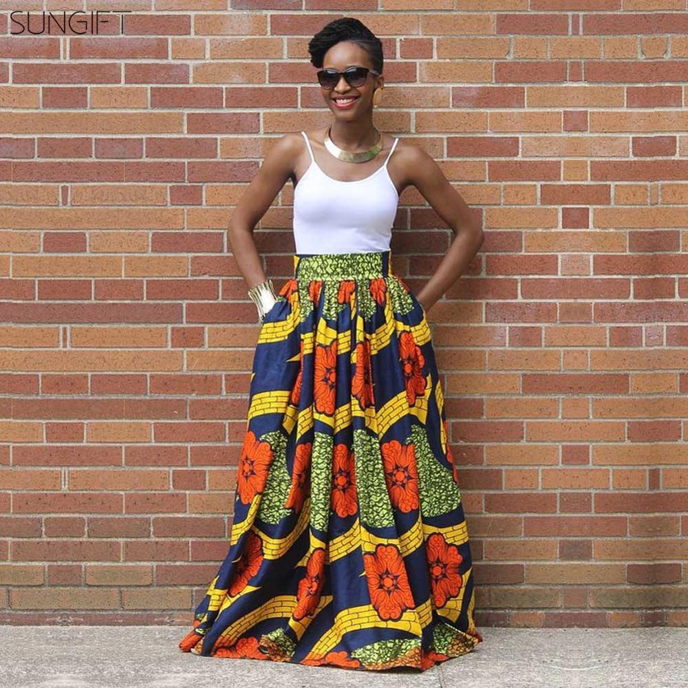 SUNGIFT Dashiki African Dresses…