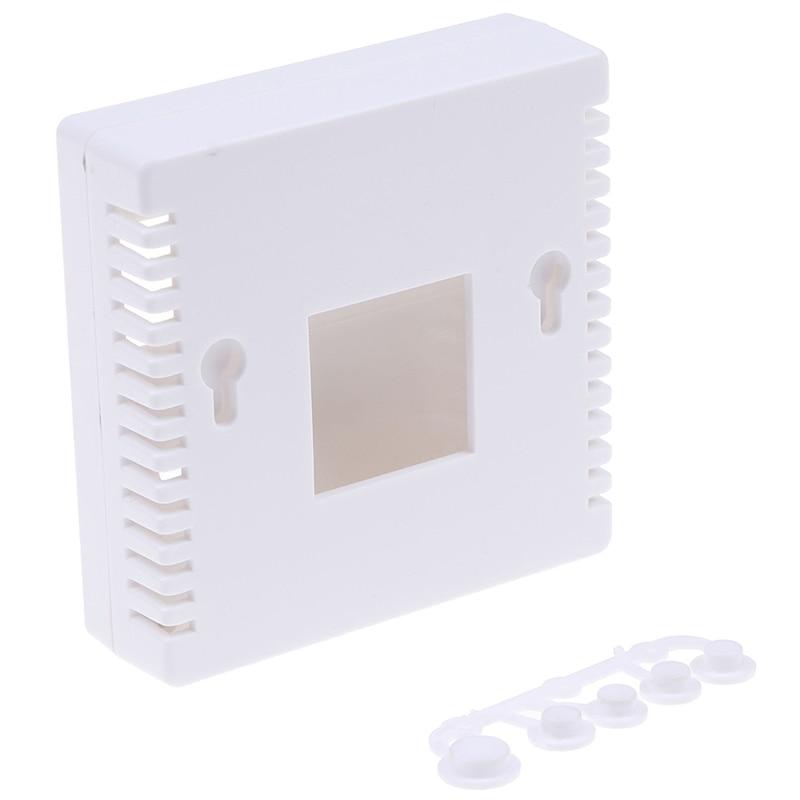 Горячая распродажа белый 86 Пластик ящик проект корпус Чехол 8,6x8,6x2,6 см 1 шт.; Лидер продаж