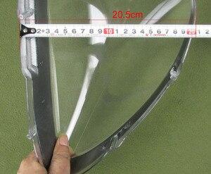Image 5 - Para mitsubishi lancer 2007 2008 2009 2010 2011 farol escudo capa abajur transparente lente de vidro