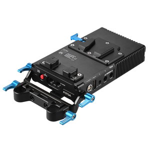 Image 2 - Fotga DP500III 2で1 vマウントバッテリープレートアダプタ充電器15ミリメートルキヤノンニコンソニー用カメラビデオスタジオ撮影