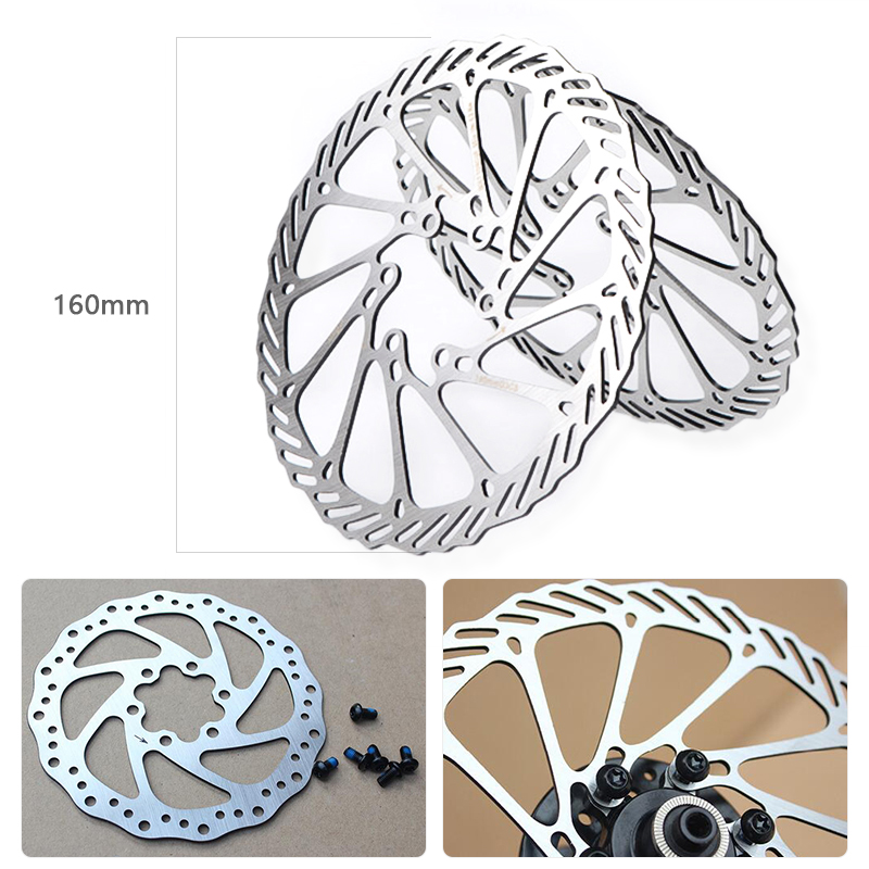 Mountain Bike Rotor Disc Brakes Stainless Steel Parts 120 140 180 203mm Bicycle