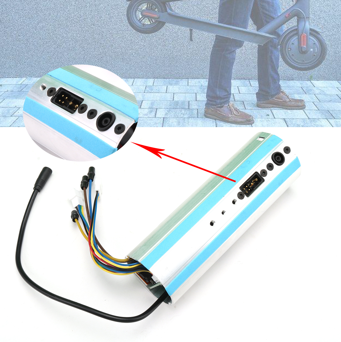 Новая замена для Ninebot Segway ES1/ES2/ES3/ES4, активированная Bluetooth панель управления приборной панели скутера