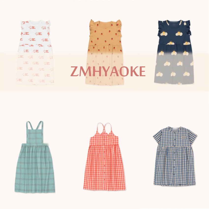 ZMHYAOKE-TC 2020 NEW Summer Baby Girls Casual Dresses Fashion Beach Christmas PARTY Dress Girl Thanksgiving Girls Princess Dress