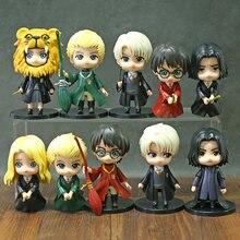 Figurines Hermione Granger Ron Weasley Luna Draco Malfoy Severus Snape Q en PVC, 5 pièces/et, jouets, poupées, cadeau